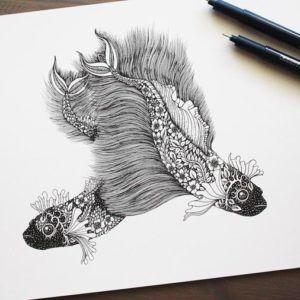 Идеи тату: орнаментальные работы Meni Chatzipanagiotou