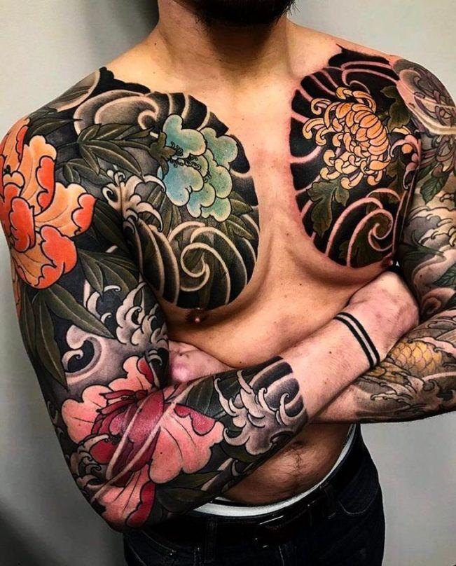 various tiger tattoos sleeve