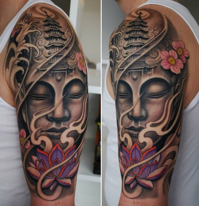 neo traditional tattoo