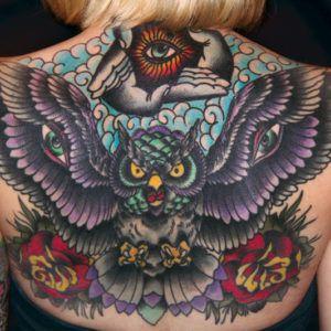 Идеи татуировок: 100 тату с совами