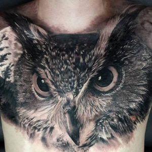 Сова. Значение татуировки