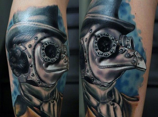 steampunk man Tattoo