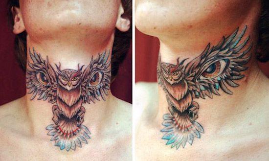 значение татуировок с совой