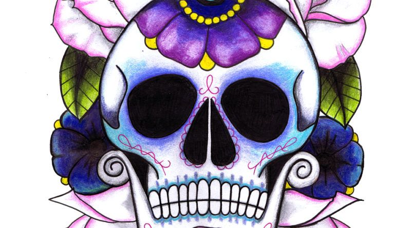 tattoo calavera print