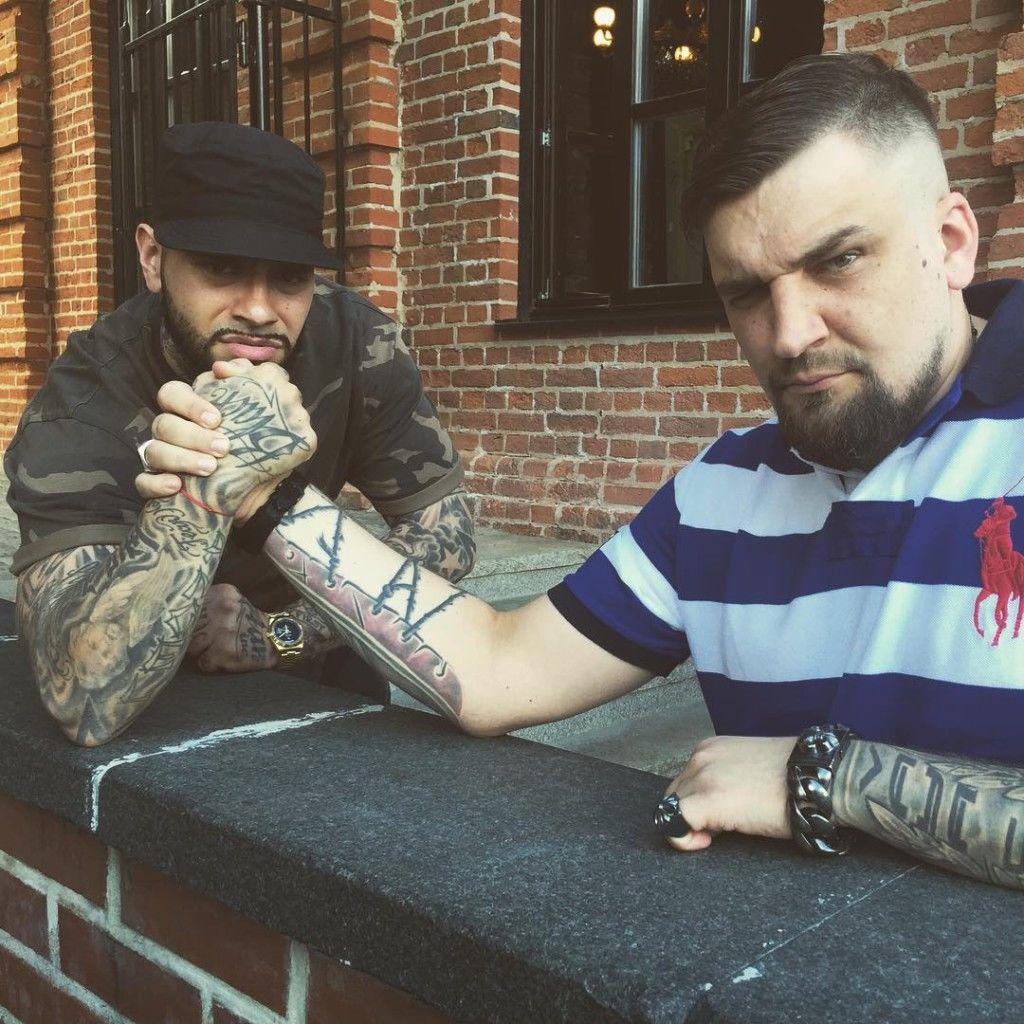 Татуировки знаменитостей Тимати и Баста