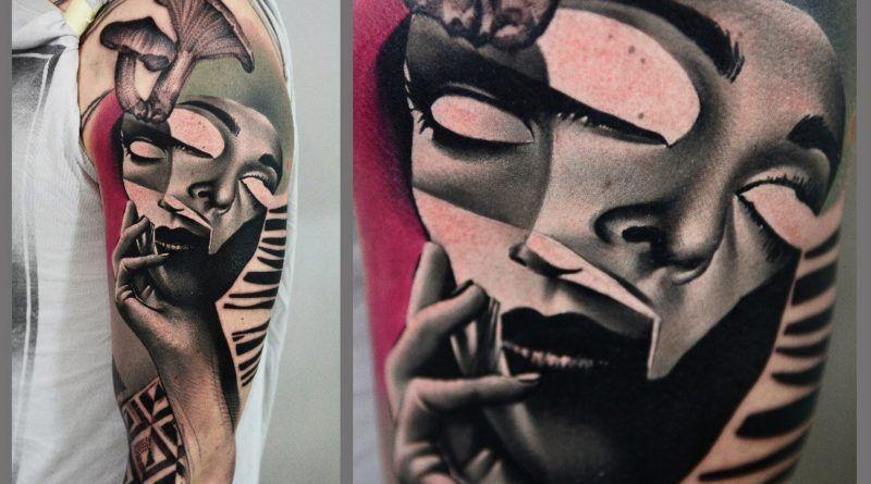психоделическая татуировка