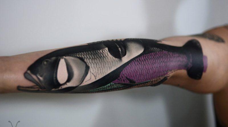 авторское креативное тату