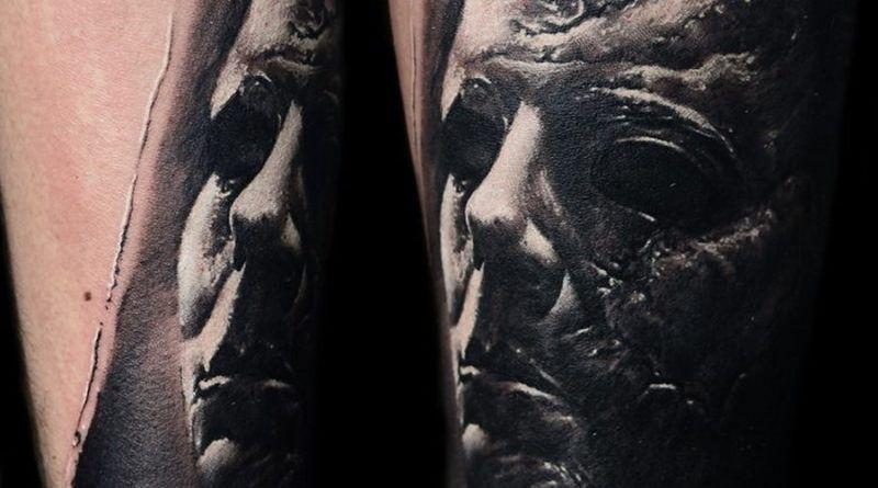 авторские работы тату-мастера