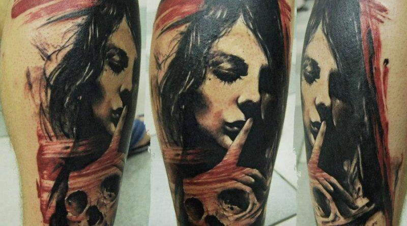 мистическая татуировка