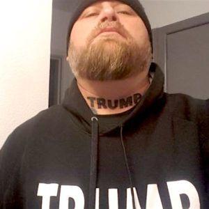 Техасский парень отметил победу Трампа новой татуировкой