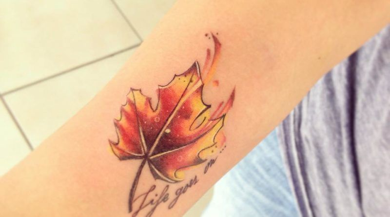 watercolor tattoo Bascur