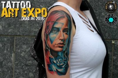 Best of Show at the Tattoo Art Expo Dublin