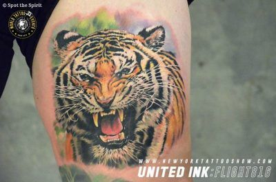 Best of Show at the United Ink Flight