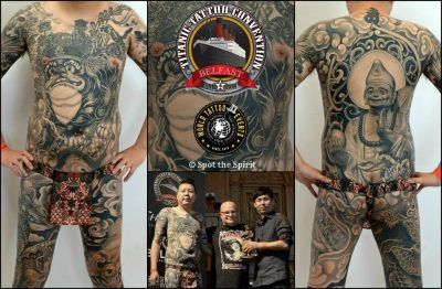 Best of Show at theTitanic International Tattoo Convention Belfast