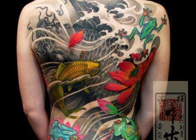 тату японский стиль