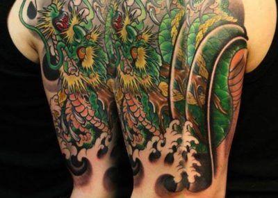 тату в японском стиле