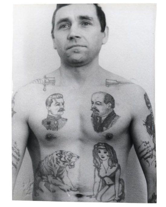из книги Аркадия Бронникова «Татуировки и их криминалистическое значение»