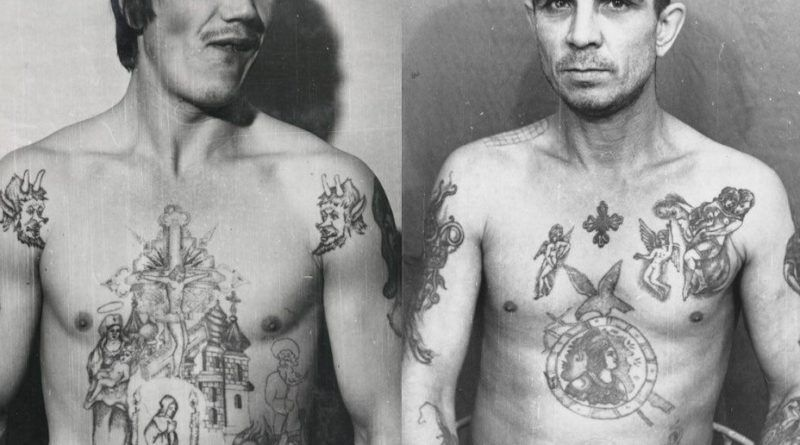 Russian Criminal onTattoo