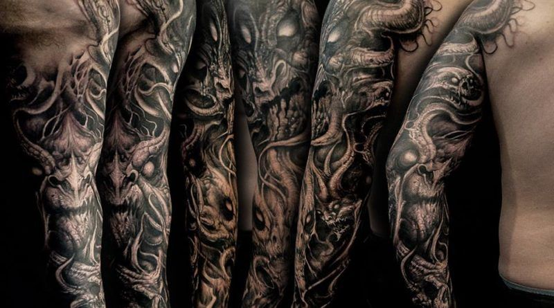 black shadow ontattoo