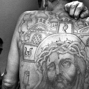 Биографические тюремные татуировки (33 фото)