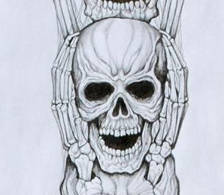 эскизы тату рукава в стиле чикано