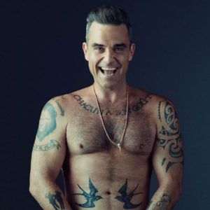 Робби Уильямс: татуировки звезды