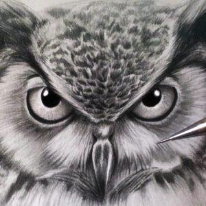 Сова: эскизы татуировок (70 фото)