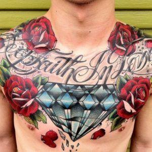 Тату и роскошь: бриллианты в татуировках (70 фото)