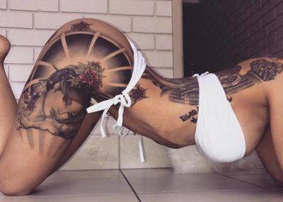 Сексуальные татуировки для девушек