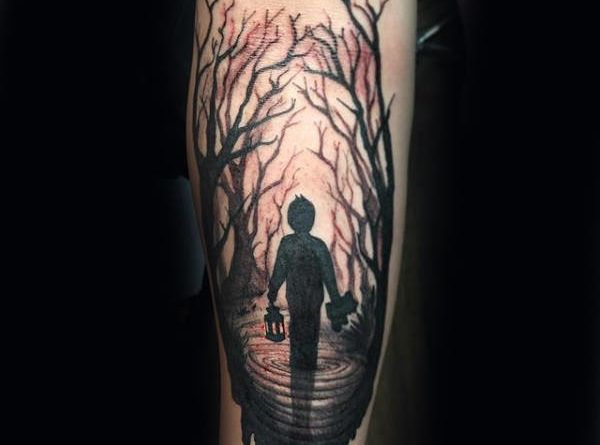 Dead forest tattoo