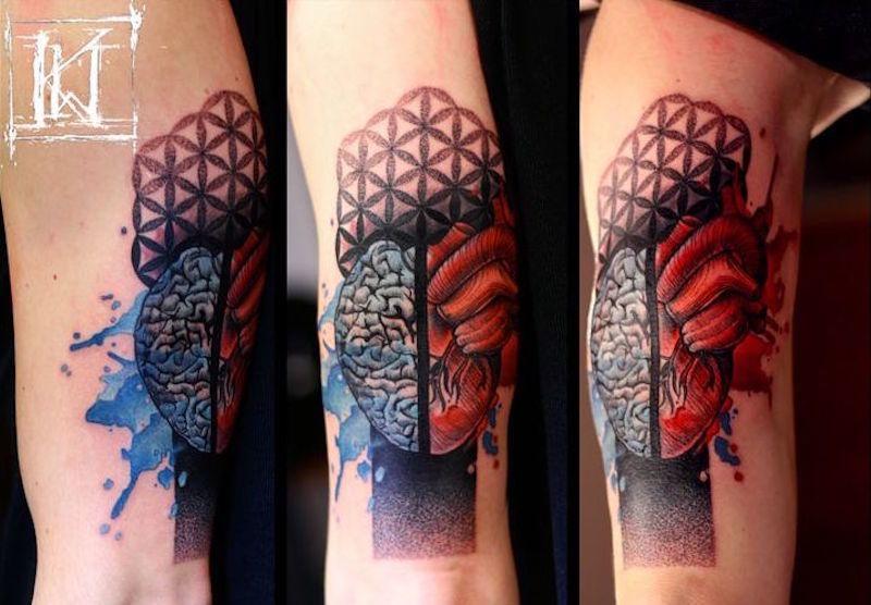 мозг 3 1 foto tattoo татуировки