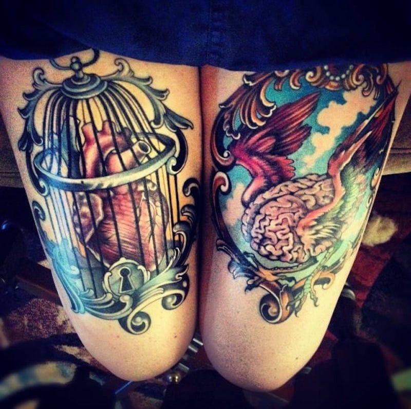 мозг 5 1 foto tattoo татуировки