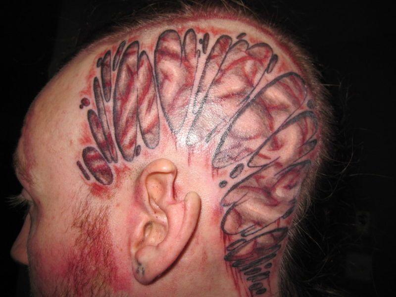 мозг 7 foto tattoo татуировки