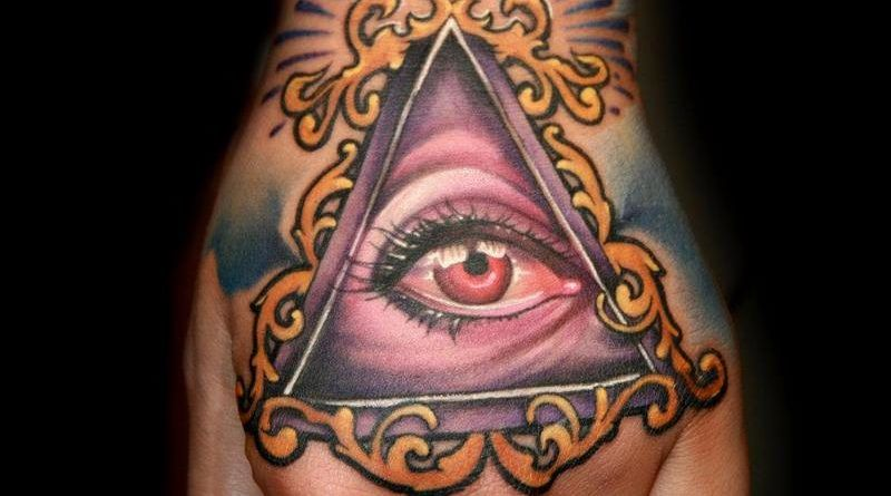 тату всевидящее око
