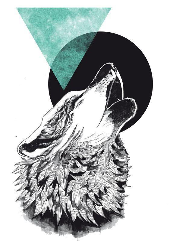 Эскизы тату: 100 нереальных волков! | Онлайн-журнал о тату Кирилл Нагиев Тату