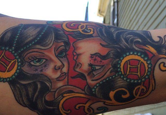 Татуировка Близнецы