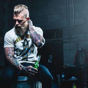 Модели с татуировками: канадец Josh Mario John