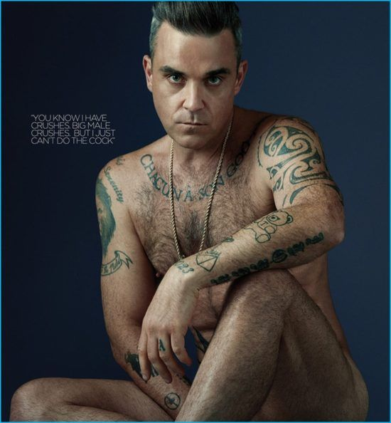 Robbie Williams Nude