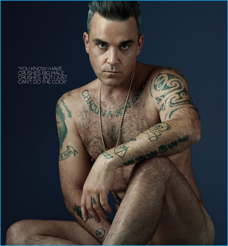 Робби Уильямс: татуировки звезды4