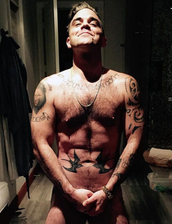Robbie Williams foto