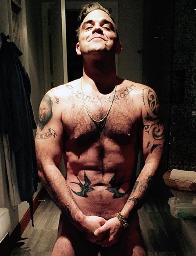 Робби Уильямс: татуировки звезды5
