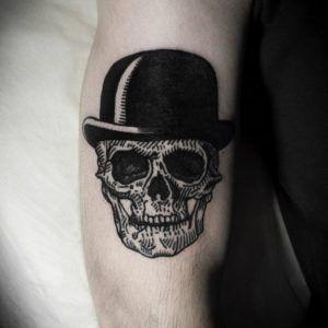 Тату череп - история, фото и значение татуировки