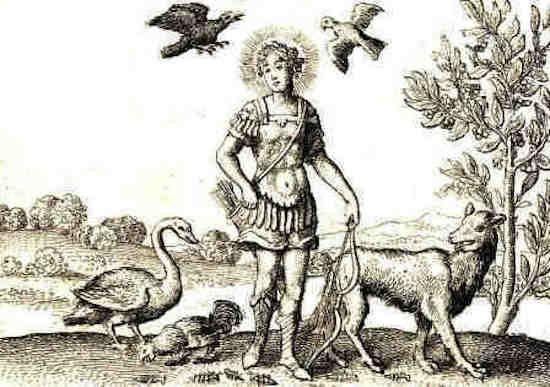 Аполлон и вороны