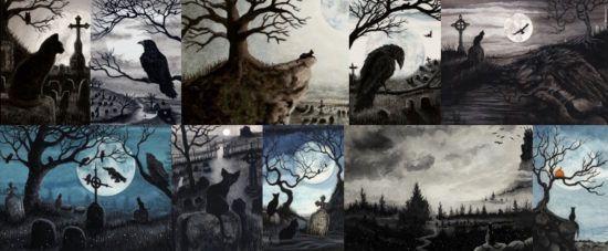 Черные кошки и вороны- вестники потустороннего