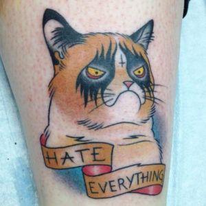 Интернет-мемы - тренд в татуировке