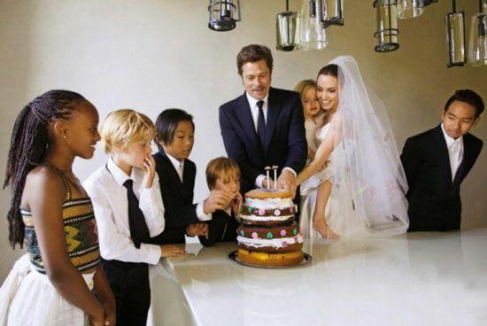 pitt mariage