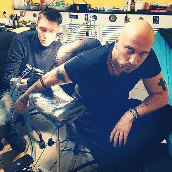Дмитрий Нагиев: «Татуировка – это тайна» | Онлайн-журнал о ... Кирилл Нагиев Тату