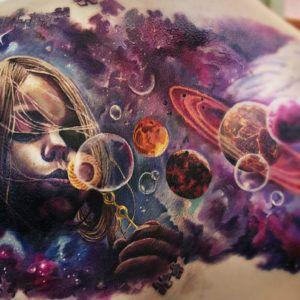 Космос и тату. Человек и бесконечность (фото)