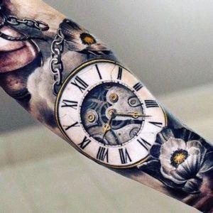 Татуировки на предплечье мужские и женские (фото)