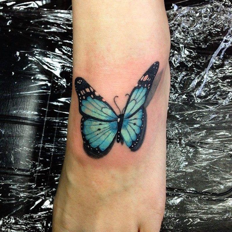 Small Realism Tattoo